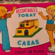 Coleccionismo Recortables: RECORTABLES TORAY. CASAS. Lote 279420623
