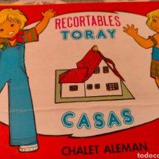 Coleccionismo Recortables: BARRACA VALENCIANA. TORAY. Lote 279420983