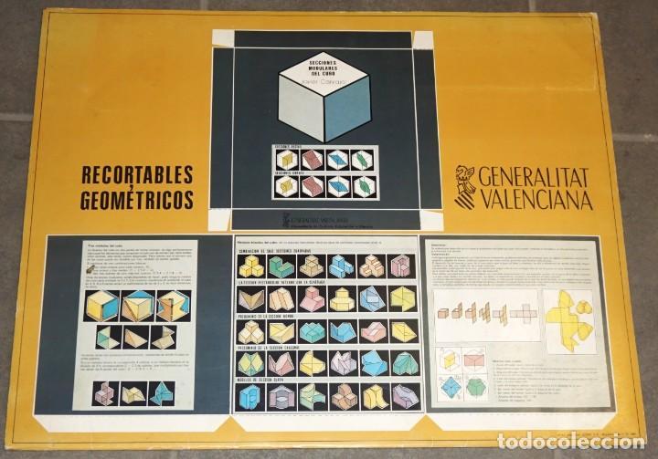 RECORTABLES GEOMÉTRICOS. (Coleccionismo - Recortables - Construcciones)