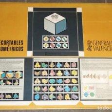 Coleccionismo Recortables: RECORTABLES GEOMÉTRICOS.. Lote 283467468
