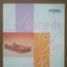 Coleccionismo Recortables: RECORTABLE PALACIO DE SAN TELMO (JUNTA DE ANDALUCÍA/GAVIA, 1993). 24 PÁGINAS CON PLIEGOS A COLOR.. Lote 287360218