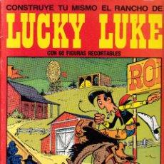 Coleccionismo Recortables: LUCKY LUKE - RECORTABLE EL RANCHO DE LUCKY LUKE - TIMUN MÁS 1985. Lote 288665743