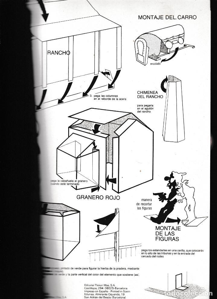 Coleccionismo Recortables: LUCKY LUKE - RECORTABLE EL RANCHO DE LUCKY LUKE - TIMUN MÁS 1985 - Foto 4 - 288665743