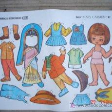 Coleccionismo Recortables: MUÑECAS RECORTABLE BOGA-----SERIE MARY CARMEN. Lote 4645870
