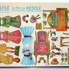Coleccionismo Recortables: RECORTABLES - MUÑECAS NESTLE. Lote 17632941