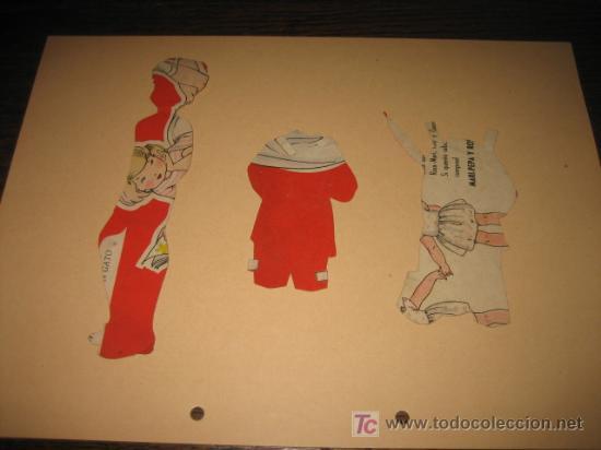 Coleccionismo Recortables: MUÑECO CON DOS VESTIDOS - Foto 2 - 7893741