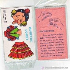 Collezionismo Figurine da Ritagliare: RECORTABLE CARTON Y TROQUELADO COMBY -1971-Nº 2. Lote 257579570