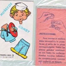 Collezionismo Figurine da Ritagliare: RECORTABLE CARTON Y TROQUELADO COMBY -1971-Nº 3. Lote 257579510
