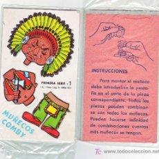 Collezionismo Figurine da Ritagliare: RECORTABLE CARTON Y TROQUELADO COMBY -1971-Nº 1. Lote 257579475