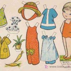 Coleccionismo Recortables: RECORTABLES BABY EDITORIAL ROMA, SERIE MUÑECAS Nº5. Lote 7684074