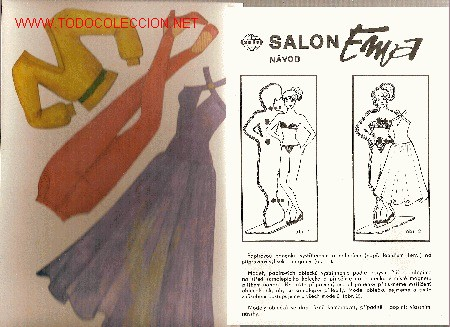 Coleccionismo Recortables: Salon Ema ( Juego de muñeca con maniqui y vestidos recortables) Checoslovaquia, 1990 - Foto 3 - 22414247