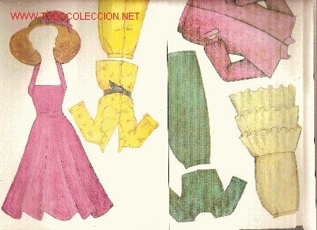 Coleccionismo Recortables: Salon Ema ( Juego de muñeca con maniqui y vestidos recortables) Checoslovaquia, 1990 - Foto 4 - 22414247