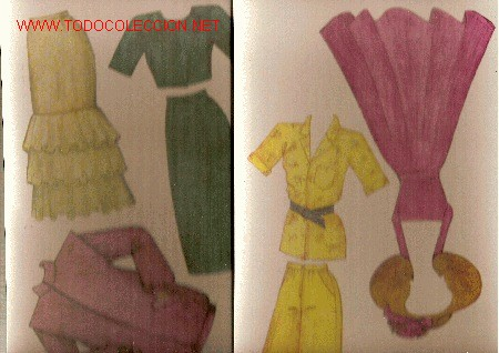 Coleccionismo Recortables: Salon Ema ( Juego de muñeca con maniqui y vestidos recortables) Checoslovaquia, 1990 - Foto 5 - 22414247