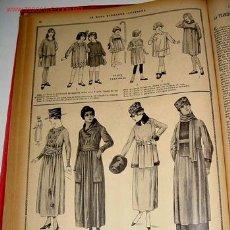 Coleccionismo Recortables: ANTIGUA REVISTA - LA MODA ELEGANTE - AÑO 1928 - 48 PERIODICOS ENCUADERNADOS EN UN SOLO TOMO - IMPRES. Lote 26676850