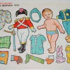 Coleccionismo Recortables: ANTIGUO RECORTABLE GRANDE DE MUÑECAS BOGA Nº 454 - MIDE 34 X 24 CMS.. Lote 2747255
