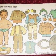Coleccionismo Recortables: MUÑECAS RECORTABLES BOGA, Nº 452 (ES UN NIÑO). Lote 35537139