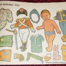 Coleccionismo Recortables: MUÑECAS RECORTABLES BOGA Nº 454. (ES UN NIÑO). Lote 35537165