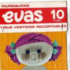 Coleccionismo Recortables: RECORTABLE - MUÑEQUITAS EVAS Y SUS VESTIDOS RECORTABLES, EDT, ARNALOT Y RECIO , BARCELONA. Lote 11058408