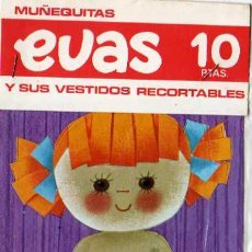 Coleccionismo Recortables: RECORTABLE - MUÑEQUITAS EVAS Y SUS VESTIDOS RECORTABLES, EDT, ARNALOT Y RECIO , BARCELONA. Lote 11058430