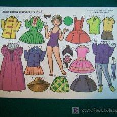Coleccionismo Recortables: RECORTABLES TIPO LILIPUT DE MUÑECAS EVA 1964 NUM 815 DORITA. Lote 14216000