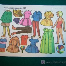 Coleccionismo Recortables: RECORTABLES TIPO LILIPUT DE MUÑECAS EVA 1964 NUM 813 MARY CELI . Lote 14216089