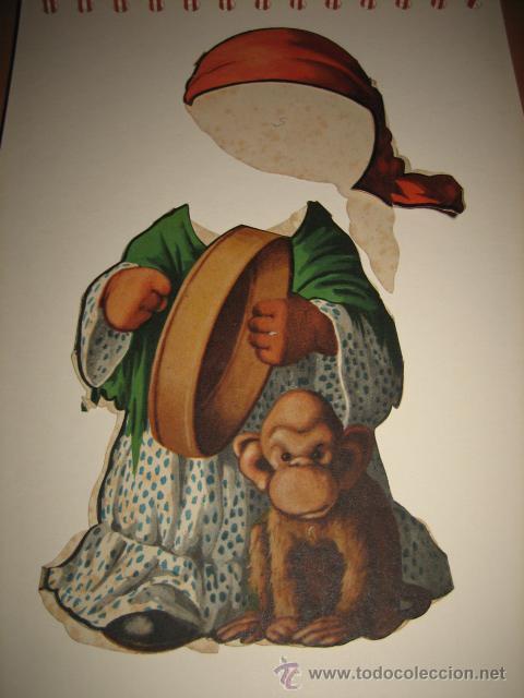 TRAJE DE GITANA DE TITINA (Coleccionismo - Recortables - Muñecas)