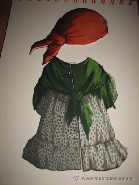 Coleccionismo Recortables: TRAJE DE GITANA DE TITINA - Foto 2 - 16383412