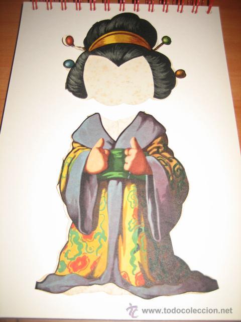 TRAJE DE JAPONESA DE TITINA (Coleccionismo - Recortables - Muñecas)
