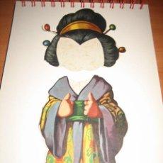 Coleccionismo Recortables: TRAJE DE JAPONESA DE TITINA. Lote 16354945