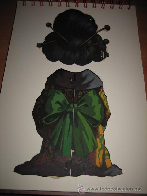 Coleccionismo Recortables: TRAJE DE JAPONESA DE TITINA - Foto 3 - 16354945