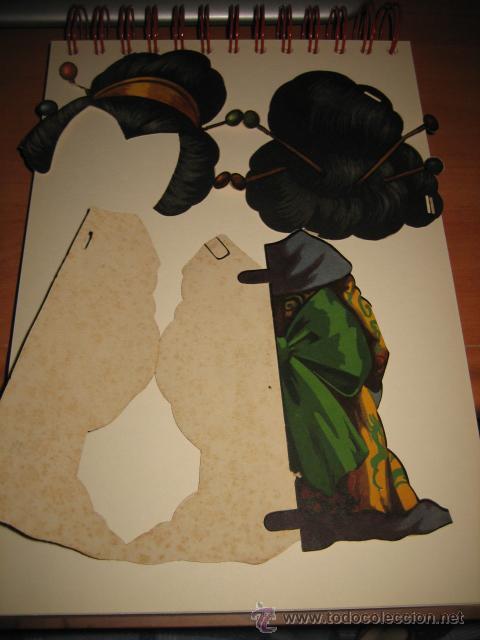 Coleccionismo Recortables: TRAJE DE JAPONESA DE TITINA - Foto 4 - 16354945