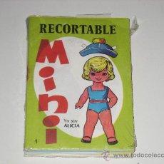 Coleccionismo Recortables: RECORTABLE MINI - LOTE 14 UNIDADES. Lote 27328695