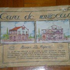 Coleccionismo Recortables: CASA DE MUÑECAS RECORTABLE LA TIJERA CON 20 LAMINAS + SOBRE Y CUENTO JUGUETE. Lote 26064928