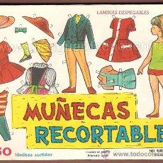 Coleccionismo Recortables: MUÑECAS RECORTABLES DE EVA LAS MINI, SEGUNDA SERIE 50 LÁMINAS DE LA 811 A LA 820 DE 1964. MARIQUITAS. Lote 29919723