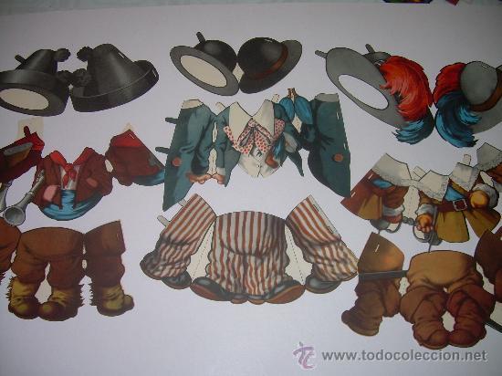 Coleccionismo Recortables: ANTIGUO RECORTABLE TITIN Y TITINA - Foto 4 - 27639207