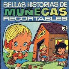Coleccionismo Recortables: RECORTABLE DE MUÑECAS: TEBEO CON RECORTABLES DE MUÑECAS (ED.BRUGUERA N.3) (VER FOTOS ADICIONALES). Lote 18282218