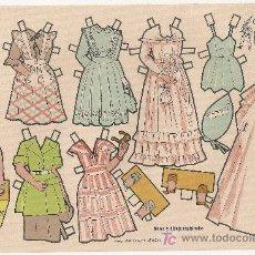 Coleccionismo Recortables: MARY CARMEN. CONSTRUCCIONES EL SOLDADO SERIE 100. Nº 107. 15X24CM.. Lote 20643613