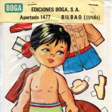 Coleccionismo Recortables: MUÑECA RECORTABLE Y VESTIDOS NEREA - EDICIONES BOGA - 1972. Lote 21741148