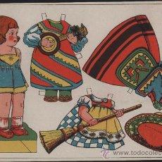 Coleccionismo Recortables: RECORTABLE DE MUÑECA MARI-LÚ Nº 2. Lote 25995473
