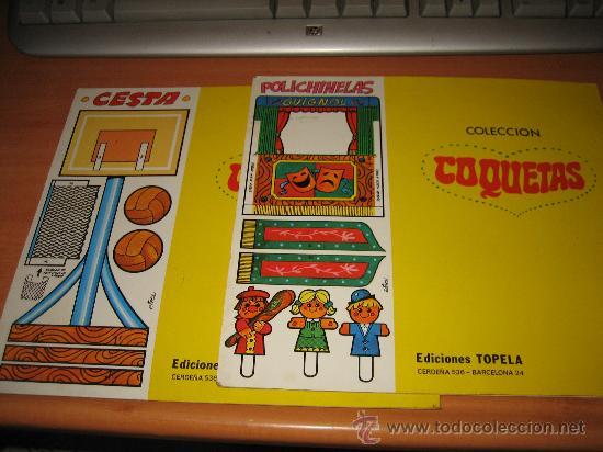 Coleccionismo Recortables: CUENTOS RECORTABLES COLECCION COQUETAS CELIA Y SONIA LEER DESCRIPCION - Foto 5 - 23382979