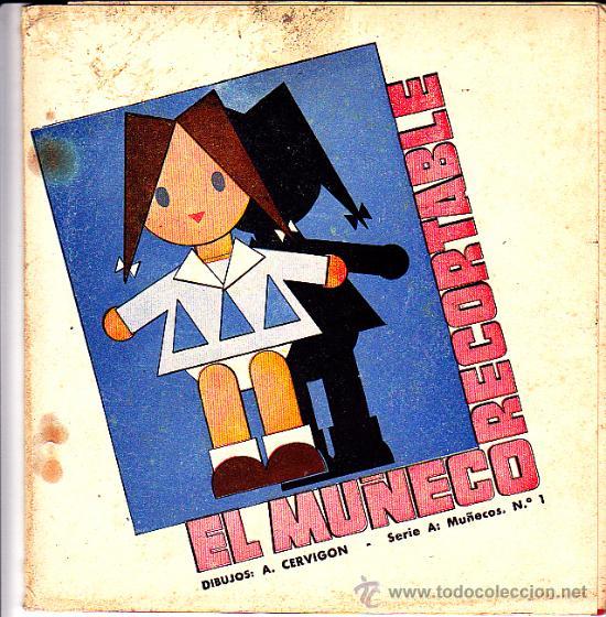 RECORTABLE EL MUÑECO RECORTABLE (Coleccionismo - Recortables - Muñecas)