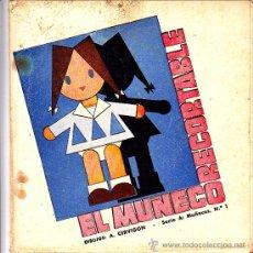 Coleccionismo Recortables: RECORTABLE EL MUÑECO RECORTABLE . Lote 24155450