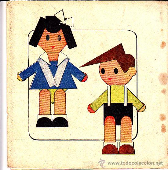 Coleccionismo Recortables: RECORTABLE EL MUÑECO RECORTABLE - Foto 2 - 24155450