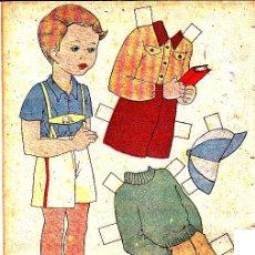Coleccionismo Recortables: RECORTABLE MUÑECA REVISTA MIS CHICAS. Lote 24569943