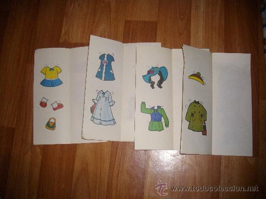 Coleccionismo Recortables: LOTE 4 RECORTABLES MUÑECAS - Foto 2 - 26543380