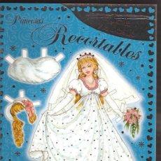 Coleccionismo Recortables: PRINCESAS RECORTABLES LA BELLA Y LA BESTIA. Lote 27760559
