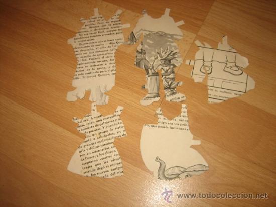 Coleccionismo Recortables: VESTIDOS RECORTABLES DESCONOZCO DE QUE MUÑECA - Foto 2 - 28004434