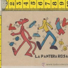 Coleccionismo Recortables: 4.6 PEQUEÑA LAMINA RECORTABLE MUÑECA LA PANTERA ROSA RECORTABLES MODA VESTIDO INFANTIL JUGUETE. Lote 36170826