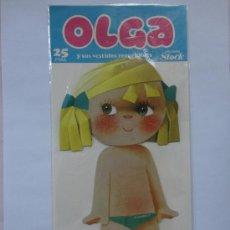 Coleccionismo Recortables: RECORTABLE OLGA DE M.J.ARNALOT.EDICIONES STOCK.AÑO 1980.. Lote 48210268