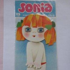 Coleccionismo Recortables: RECORTABLE SONIA DE M.J.ARNALOT.EDICIONES STOCK.AÑO 1980.. Lote 48210257